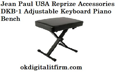 Jean Paul USA Reprize Accessories DKB-1 Adjustable Keyboard Piano Bench