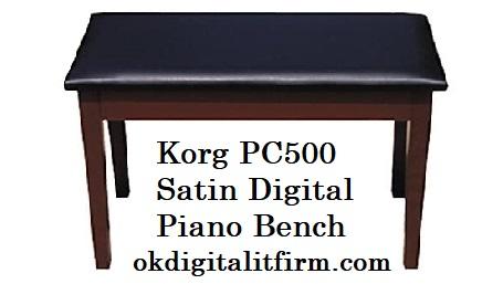 Korg PC500 Satin Digital Piano Bench