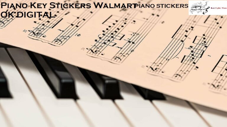 Top Best Piano Key Stickers Walmart -Tips For The Beginners In 2020