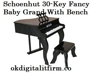 Schoenhut 30-Key Fancy Baby Grand With Bench