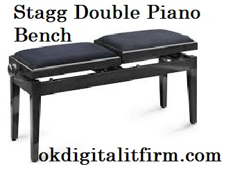 Stagg Double Piano Bench