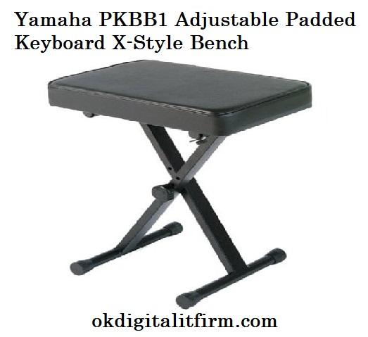 Yamaha PKBB1 Adjustable Padded Keyboard X-Style Bench