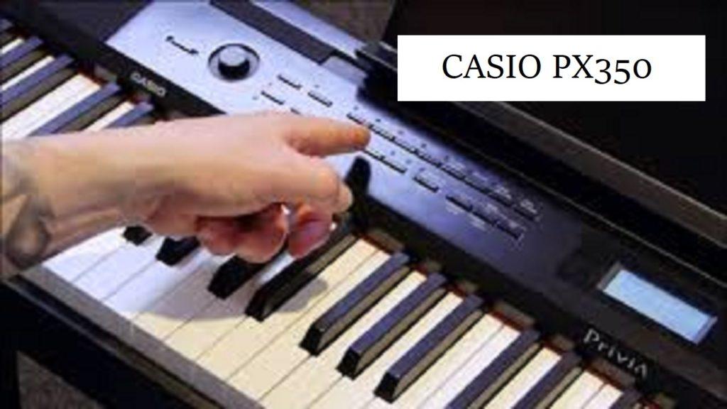 Top Best Casio PX350 BK 88-Key Touch Sensitive Privia Digital Piano In 2020