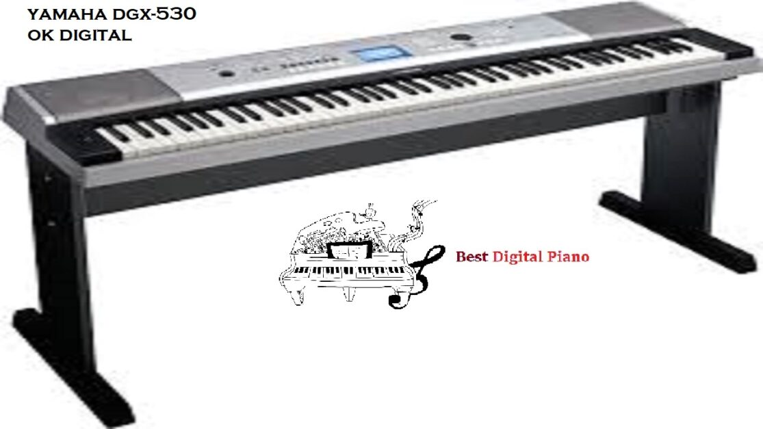 The Best Yamaha DGX 530 Keyboard With Matching Stand