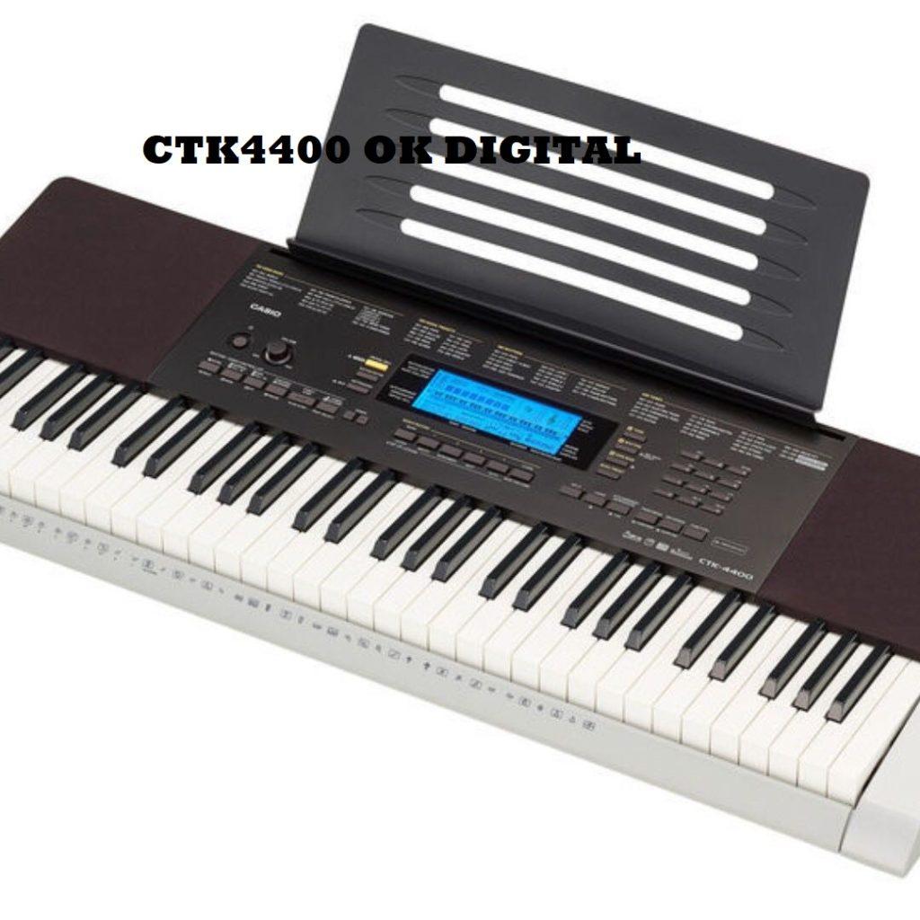 Casio Inc. CTK4400 61-Key Touch Sensitive Personal Keyboard