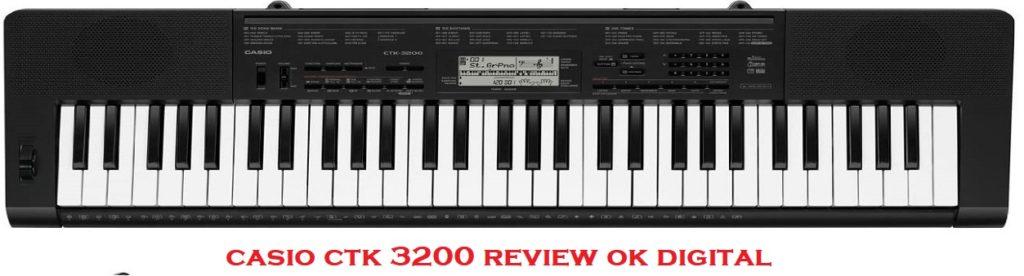 Best Casio CTK 3200 Review 61-Key Premium Portable Keyboard Package with Headphones