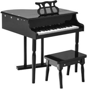 Goplus Classical Kids Mini Piano, 30 Keys Wood Toy