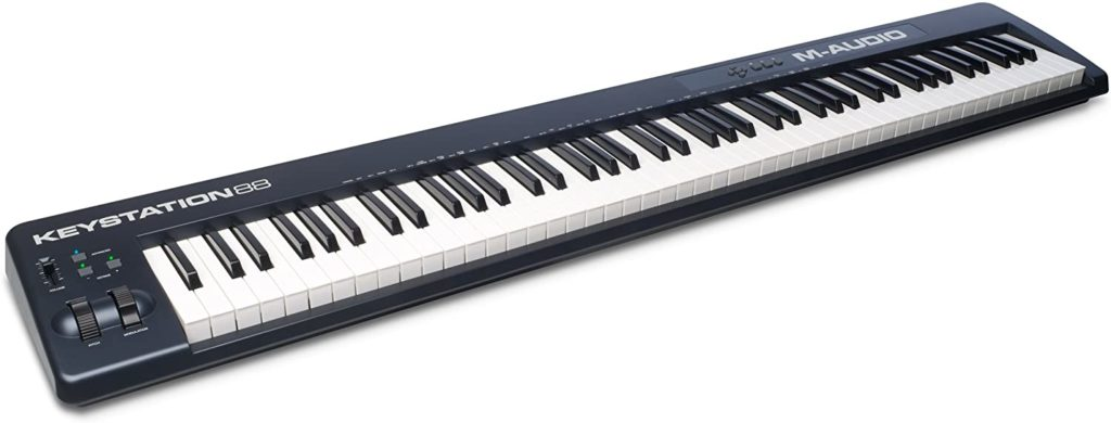 Best M-Audio Keystation 88 II - 88 Key USB/MIDI Keyboard Controller In 2020