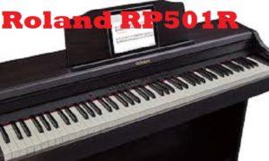 ROLAND RP501R-CB HOME PIANO, CONTEMPORARY BLACK