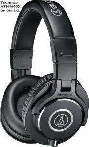 Audio-Technica ATH-M40x – Shut Back