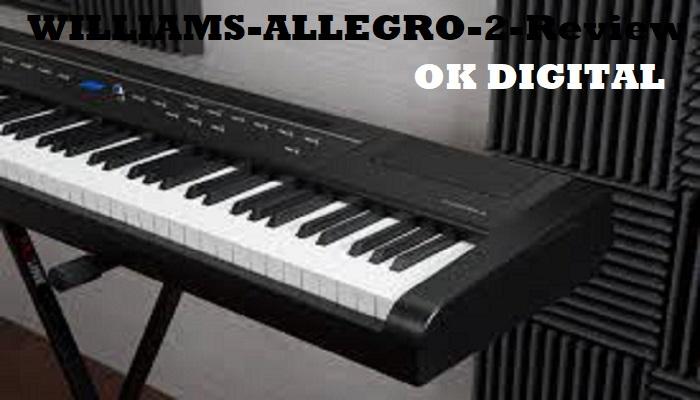 williams digital piano reviews