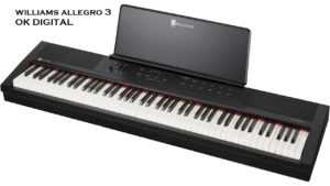 The Best Williams Legato III 88-Key Digital Piano Black