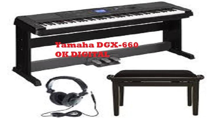 Yamaha 88 Keys-DGX-660