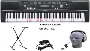 Yamaha EZ-220 61-Key Keyboard