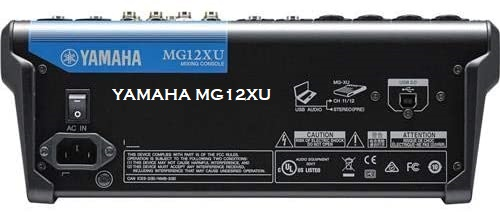 Best Yamaha MG12XU Review Of 12-Input 4-Bus Mixer with Effects