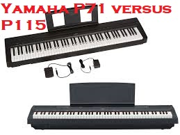 Top Best Seller YAMAHA P71 88-Key Weighted Action Digital Piano With Sustain Pedal In 2020