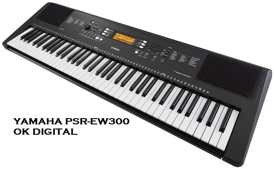 Yamaha PSR-EW300 SA 76-Key