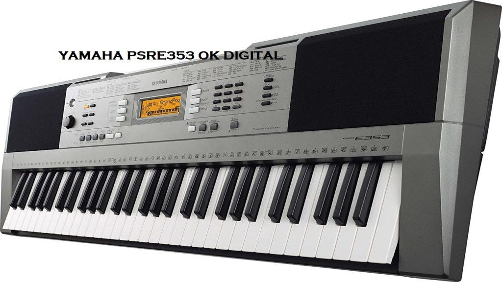 Yamaha PSRE353 61-Key