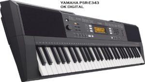 Yamaha PSRE-343 61-Key