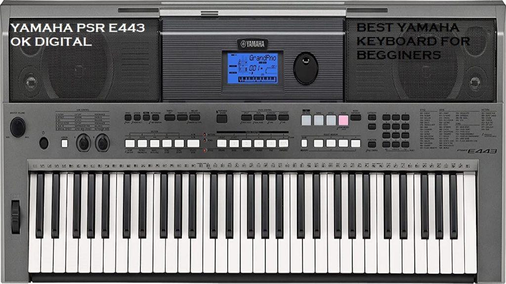 Yamaha PSRE443 61-Key