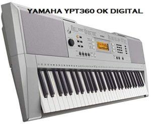 Yamaha YPT360 61-Key Keyboard