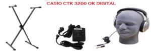 Diagram Of The Casio CTK 3200