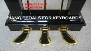 Piano Pedals For Keyboards And Their Roles
