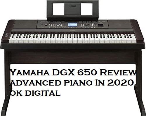 Top Best Yamaha DGX650B Digital Piano - Pros & Cons In 2020