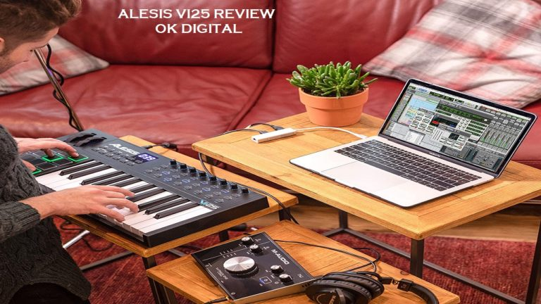 Best Alesis VI25 | 25-Key USB MIDI Keyboard Controller with 16 Pads