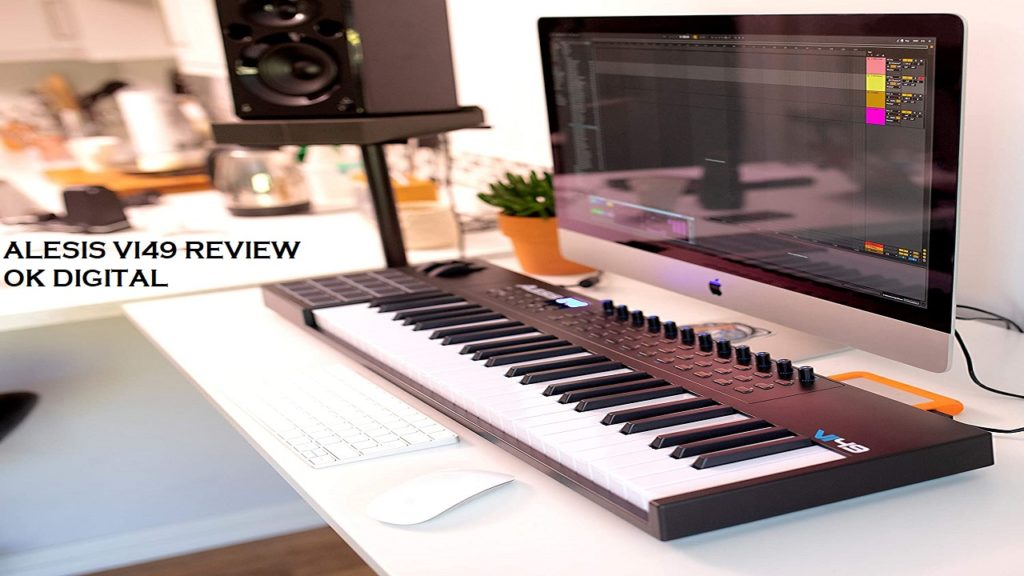 Best Alesis VI49 | 49-Key USB MIDI Keyboard Controller with 16 Pads