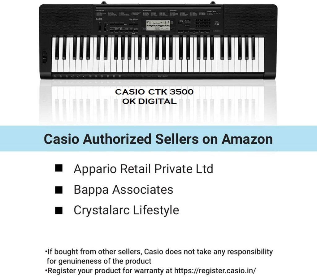 CASIO CTK 3500