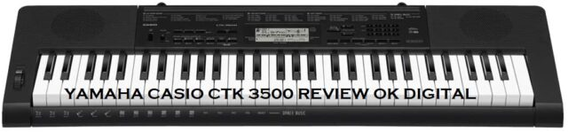 Best Casio CTK-3500 Review, 61-Key Touch Sensitive Portable Keyboard with Power Supply