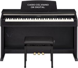 Best Casio Privia PX-870 Digital Piano - Black Bundle with Furniture Bench