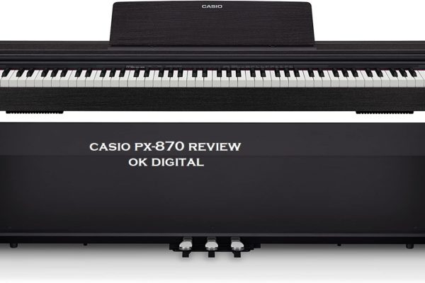 Best Casio Privia PX-870 Digital Piano - Black Bundle with Furniture Bench