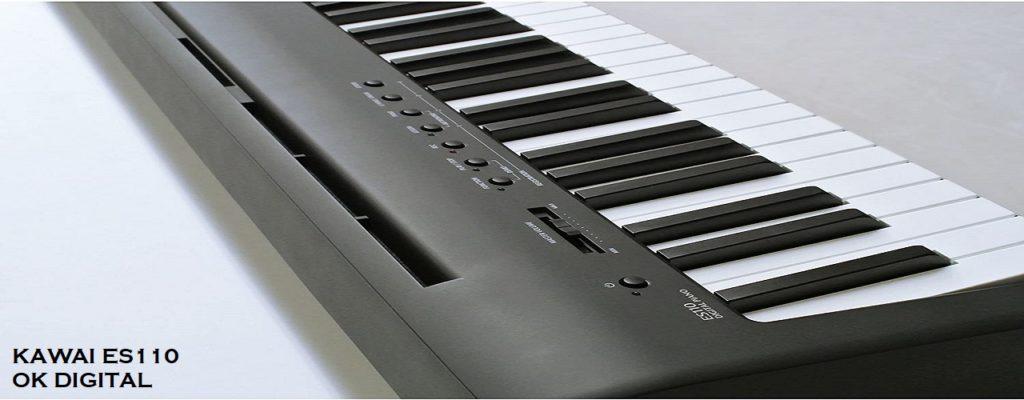 Best Kawai ES110 Portable Digital Piano Black In 2020