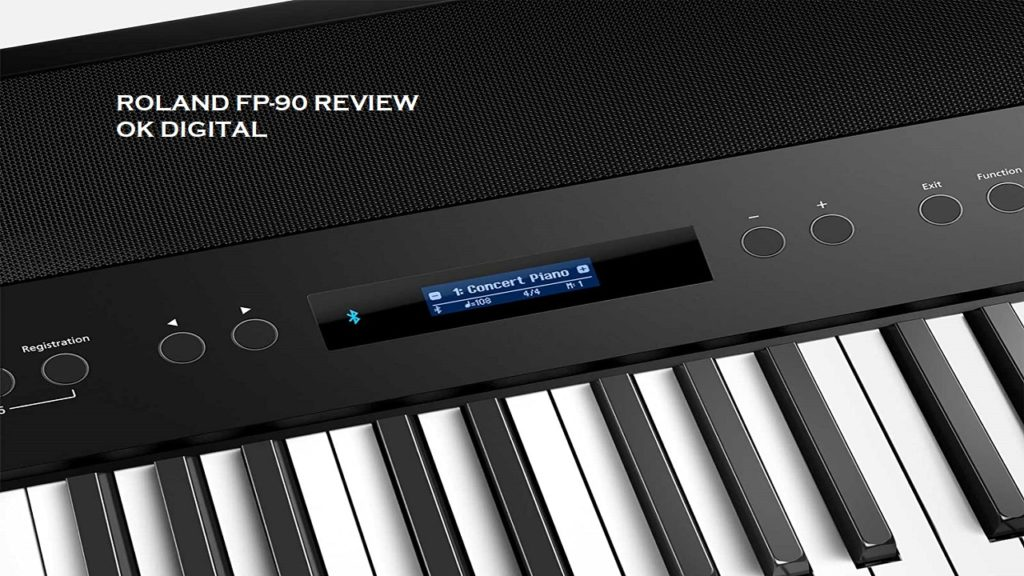 Best Roland FP 90 Review, Premium Portable Piano