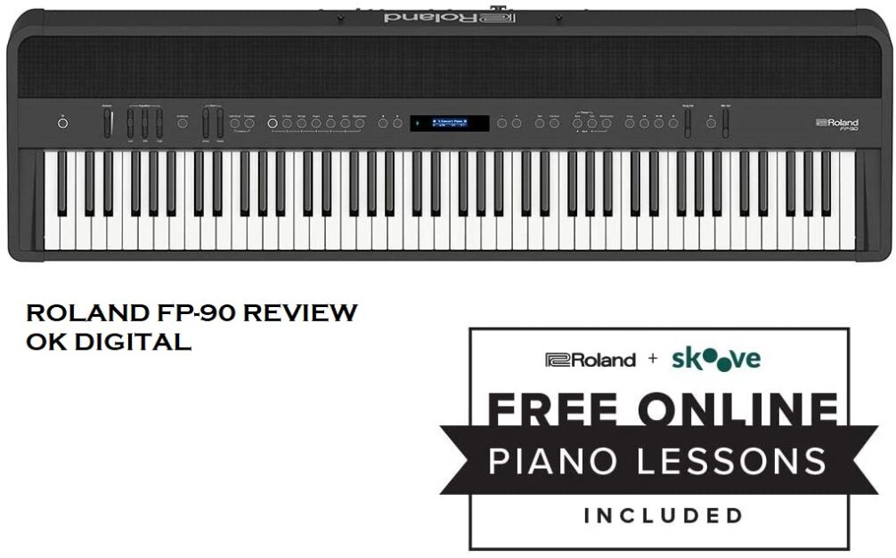 The Best Roland FP 90 Review, Premium Portable Piano 88-Key