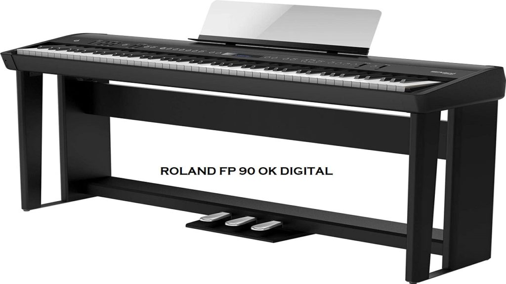 Best Roland FP-90 Review, Premium Portable Piano, 88-key In 2020