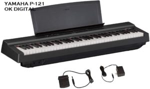 Best Yamaha P121 Review 73-Key Weighted Action