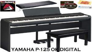 Best Yamaha P125 Digital Piano