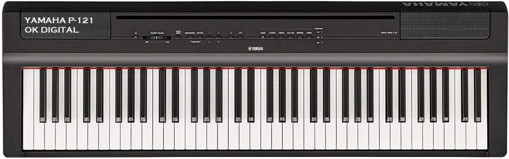 Best Yamaha P121 Review 73-Key Weighted Action Compact Digital Piano