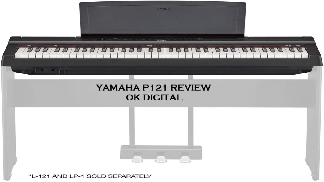yamaha Best Yamaha P121 Review 73-Key Weighted Action Compact Digital Pianoreview