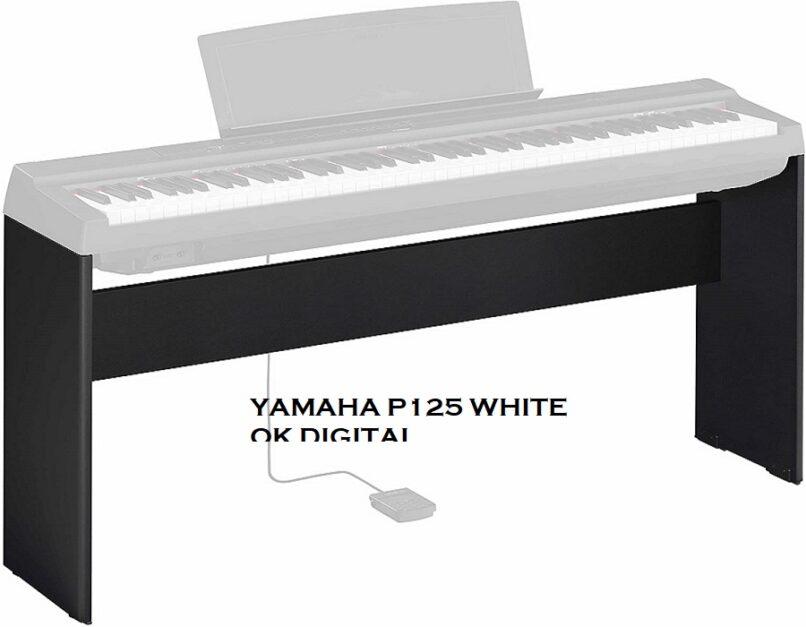 yamaha p125 white