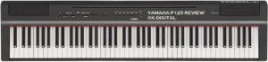 Best Yamaha P125 Digital Piano - Black