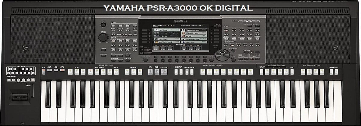 Yamaha PSR-A3000 61-Key Arranger Digital Piano Keyboard In 2020