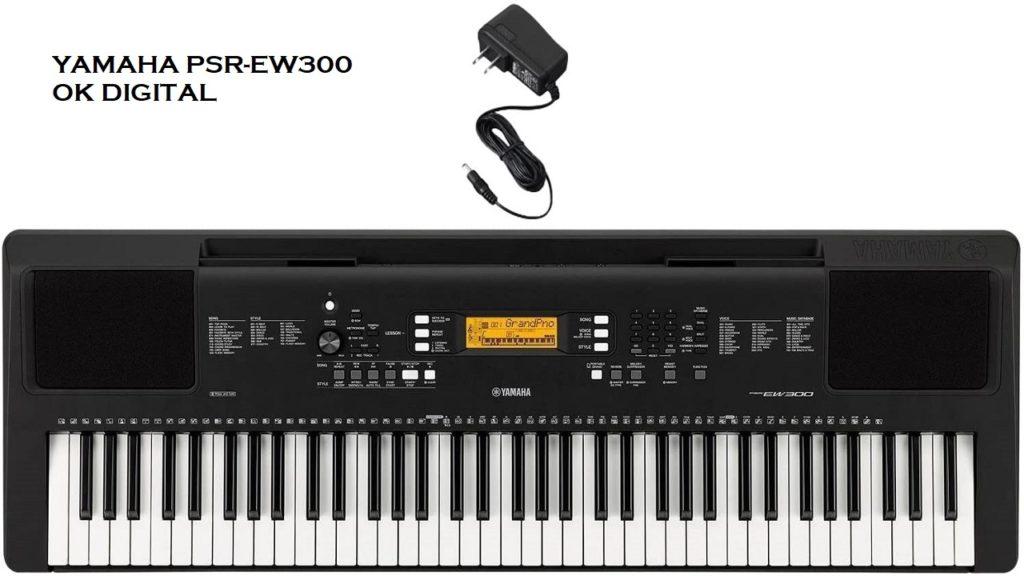 Best Yamaha PSR-EW300 Review 76-Key Portable Keyboard