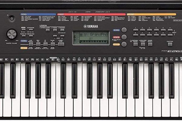 Top Best Yamaha PSR-e263 61-key portable keyboard In 2020