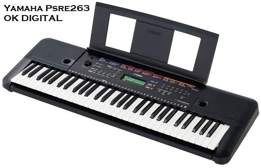 Top Best Yamaha PSR-e263 61-key portable keyboard In 2020