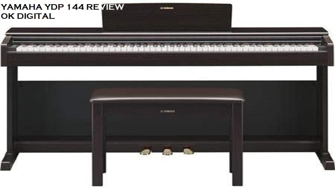 Yamaha YDP 144 Review In 2020 – Digital Keyboard Piano Black