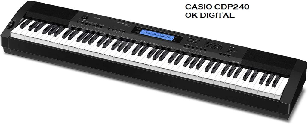 Best Casio CDP 240 Review Of 88-Key Digital Piano (Amazon Exclusive) In 2020